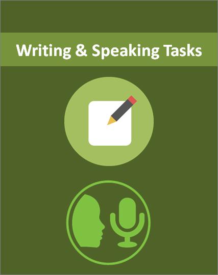 English speaking tasks